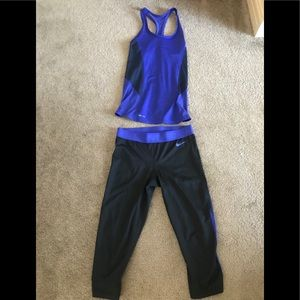 Nike Dri Fit Workout Outfit
